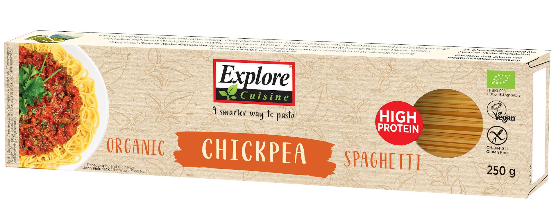 Explore Cuisine Bio Spaghetti aus Kichererbsen