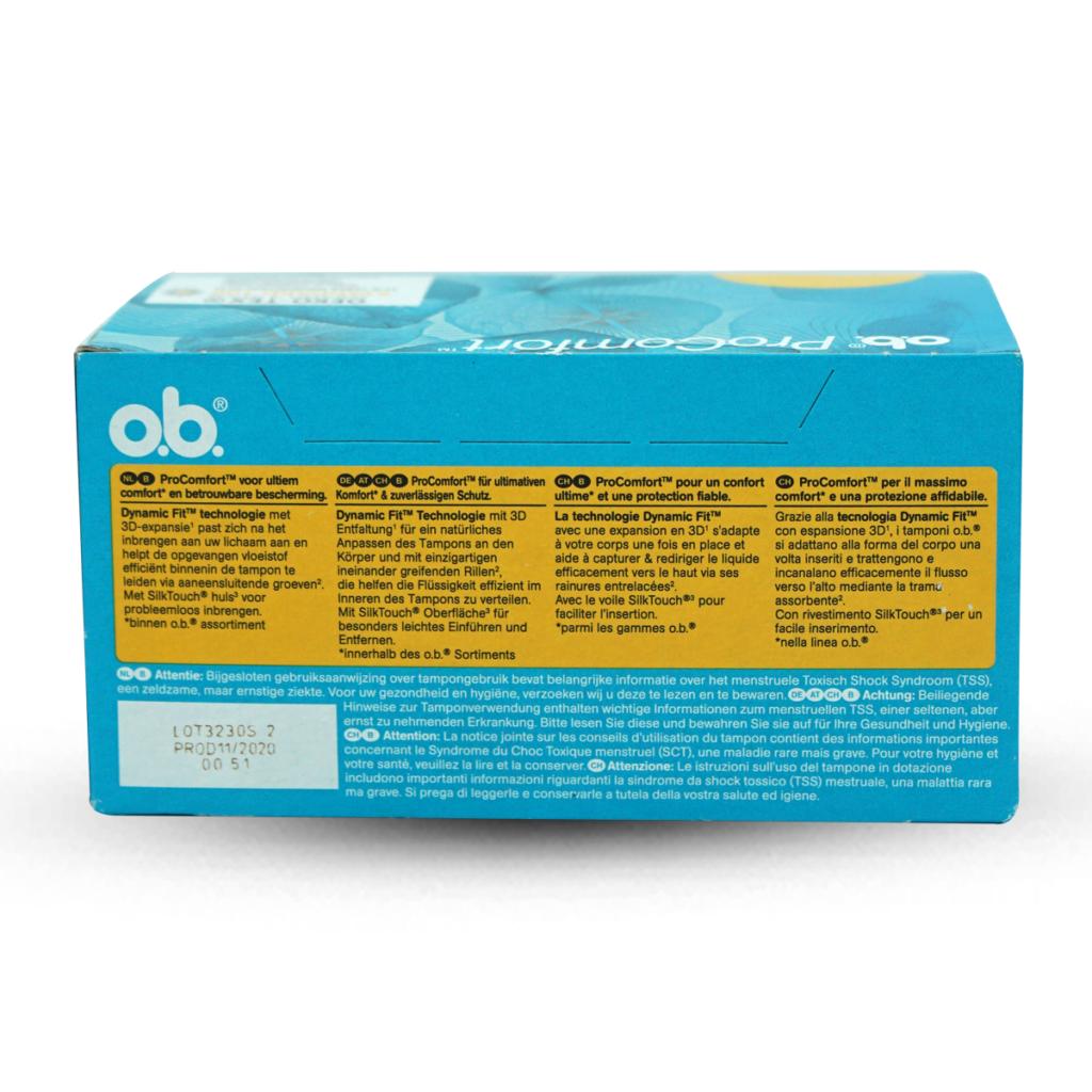 o.b. Pro Comfort Normal Tampons 32 Stk.