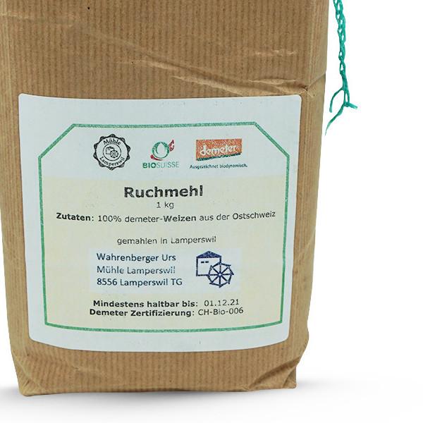 Mühle Lamperswil Demeter Weizen-Ruchmehl