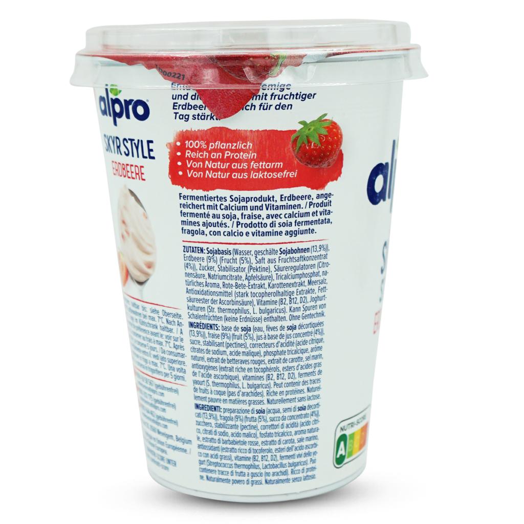 Alpro Jogurt Skyr Erdbeere