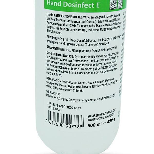 Hand Desinfect E