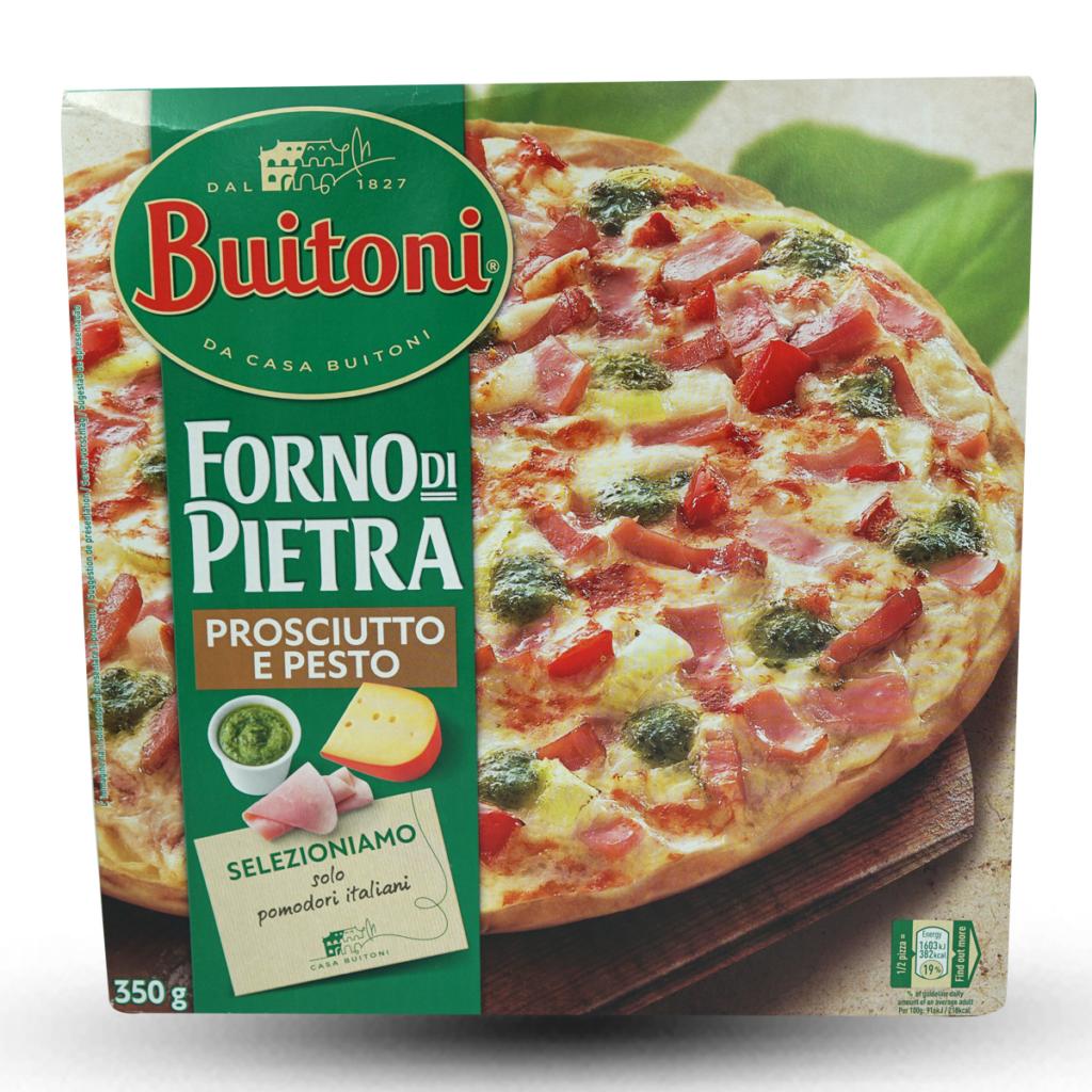 Buitoni Pizza Forno di Pietra Prosciutto & Pesto